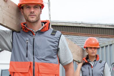 Photo of customised workwear