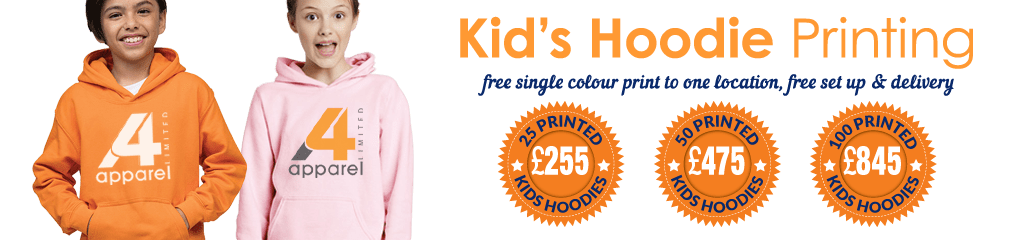 Special offers on the Gildan Kids Heavy Blend™ Hooded Sweatshirt