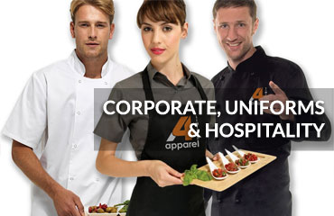 Uniforms and hospitality clothing