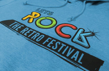 Let's Rock Festival Hoody