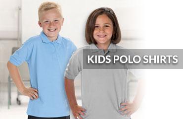 464d1a43c Kids Polo Shirts for Custom Print & Embroidery   A4 Apparel