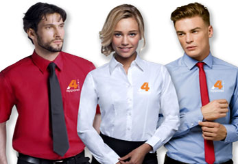 Image of office shirts