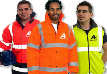 Photo of hi visibility clothing suitable for decorating