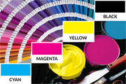 Pantone colour swatch